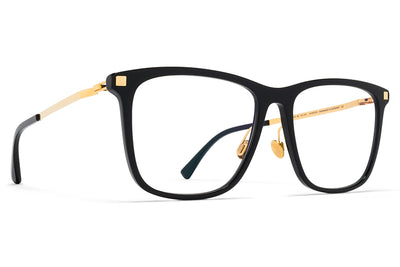 MYKITA Eyewear - Jovva with Nose Pads Black/Glossy Gold