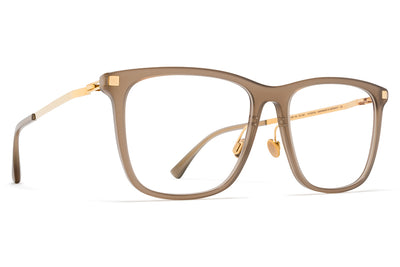 MYKITA Eyewear - Jovva with Nose Pads Taupe/Glossy Gold