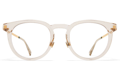 MYKITA - Lahti Eyeglasses Champagne/Glossy Gold with Nose Pads