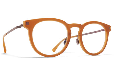 MYKITA - Lahti Eyeglasses Matte Brown/Mocca with Nose Pads