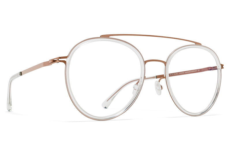 MYKITA Eyeglasses - Meri Shiny Copper/Mint Water