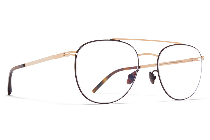 MYKITA - Nilsson Eyeglasses Champagne Gold/Dark Brown