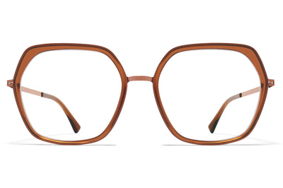 MYKITA - Valda Eyeglasses Shiny Copper/Topaz