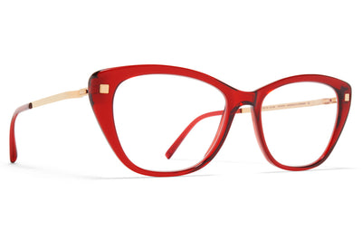 MYKITA - Ygritte Eyeglasses Ruby/Champagne Gold
