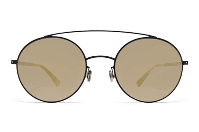 MYKITA Sunglasses - Aira Black with Black Flash Lenses