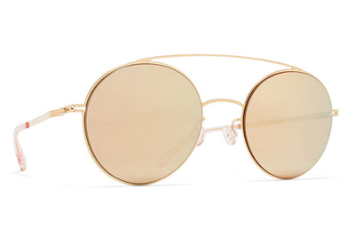 MYKITA Sunglasses - Aira Champagne Gold with Champagne Gold Lens