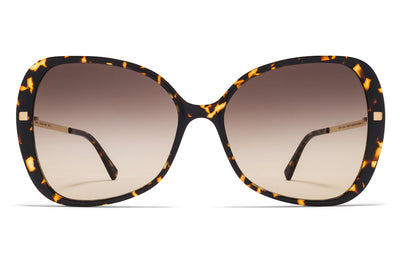 MYKITA - Apaay Sunglasses Trinidad/Glossy Gold with Brown/Brown Gradient Lenses