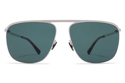 MYKITA - Brian Sunglasses Shiny Silver with MY+ Neophan Polarized Lenses