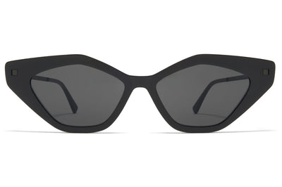 MYKITA - Gapi Sunglasses Black/Black with Dark Grey Solid Lenses