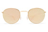 MYKITA Sunglasses - Jonte Champagne Gold with Champagne Gold Lenses