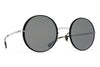 MYKITA Sunglasses - Joona Silver/Black with Mirror Black Lenses
