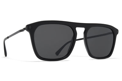 MYKITA - Kallio Sunglasses Matte Black/Black with Polarized Pro Hi-Con Grey Lenses