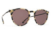 MYKITA Sunglasses - Keelut Creamy Cookie/Black with Brown Solid Lens