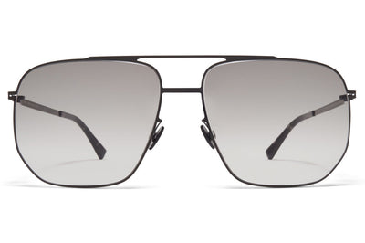 MYKITA - Lillesol Sunglasses Shiny Black with Original Grey Gradient Lenses