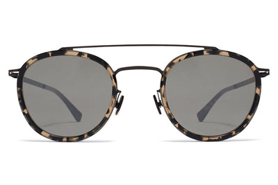 MYKITA Sunglasses - Olli Black/Antigua with Mirror Black Lenses