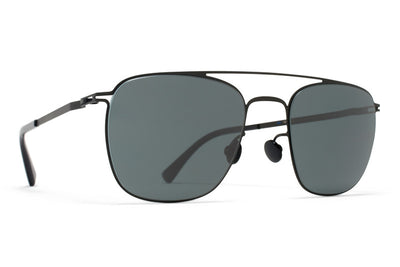 MYKITA Sunglasses - Torge Black with MY+ Black Polarized Lenses