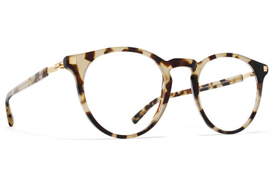 MYKITA Eyewear - Alfur Chocolate Chips/Glossy Gold