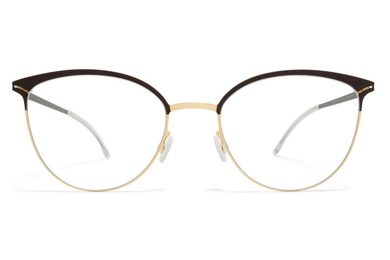 MYKITA Eyewear - Anita Gold/Dark Brown