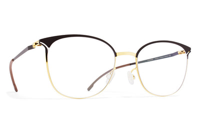 MYKITA Eyewear - Edda Gold/Dark Brown
