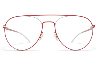MYKITA - Eero Eyeglasses Silver/Rusty Red