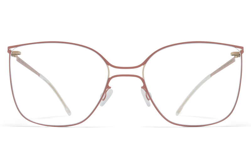 MYKITA - Rikke Eyeglasses Champagne Gold/Pink Clay