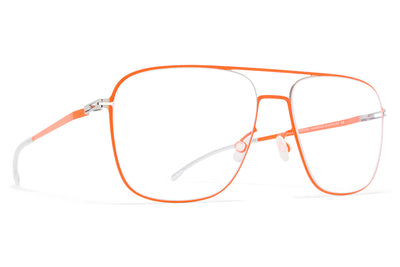 MYKITA® Eyeglasses Silver/Neon Orange