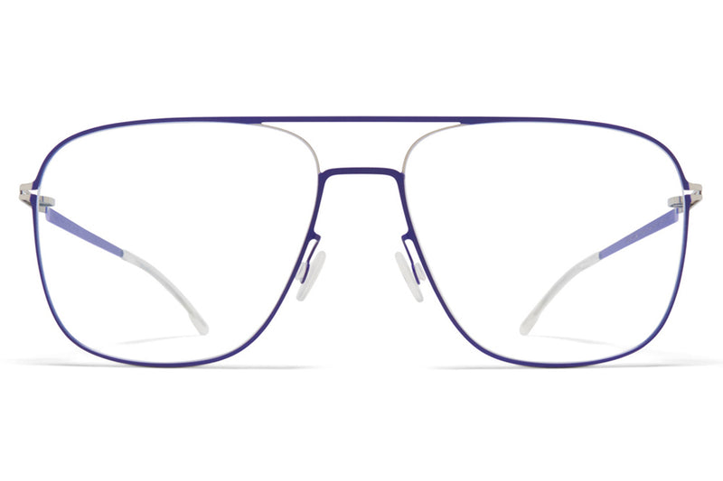 MYKITA - Steen Eyeglasses Silver/Super Blue