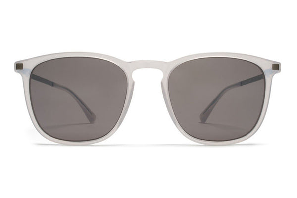 MYKITA Sunglasses - Atka Coconut Water/Shiny Graphite with Dark Purple Flash Lenses