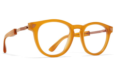 MYKITA + Maison Margiela - MMRAW010 Eyeglasses Raw Amber/Shiny Copper