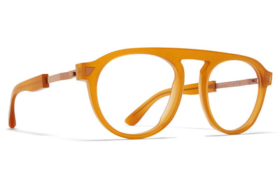 MYKITA + Maison Margiela - MMRAW016 Eyeglasses Raw Amber/Shiny Copper