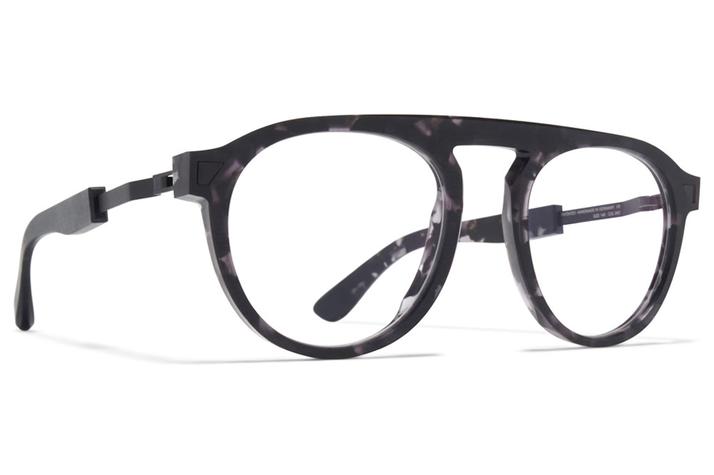 MYKITA + Maison Margiela - MMRAW016 Eyeglasses Raw Black Havana/Black