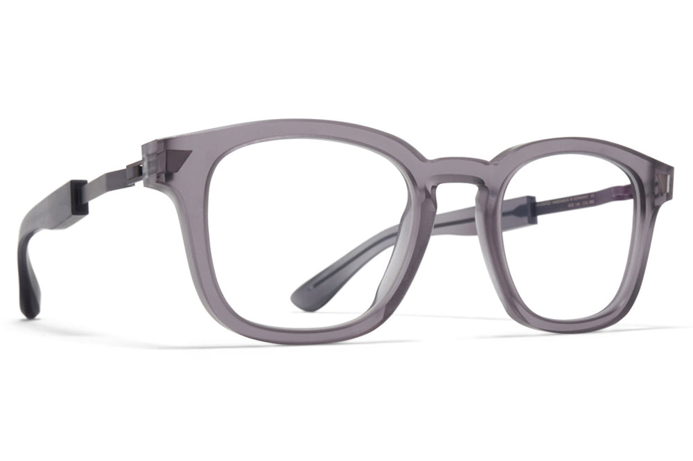 MYKITA + Maison Margiela - MMRAW020 Eyeglasses Raw Smoke/Blackberry