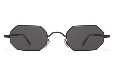MYKITA + Maison Margiela - MMCRAFT004 Black with Dark Grey Solid Lenses