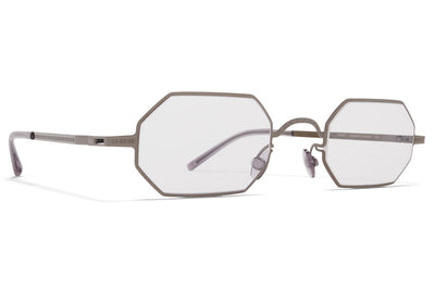 MYKITA + Maison Margiela - MMCRAFT004 Sunglasses Shiny Graphite with Gloomy Grey