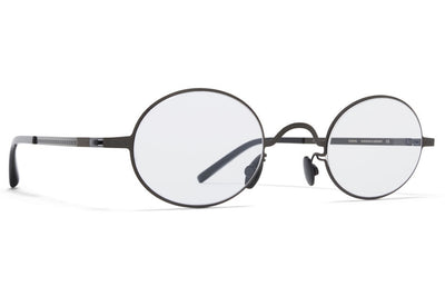 MYKITA + Maison Margiela - MMCRAFT005 Sunglasses Shiny Black with Gloomy Grey Lenses