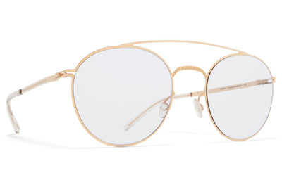 MYKITA + Maison Margiela - MMCRAFT007 Sunglasses Champagne Gold, Gloomy Grey