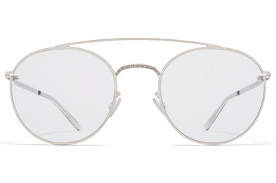MYKITA + Maison Margiela - MMCRAFT007 Sunglasses Shiny Silver, Gloomy Grey