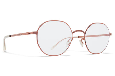 MYKITA + Maison Margiela - MMCRAFT010 Sunglasses Purple Bronze with Gloomy Grey Lenses