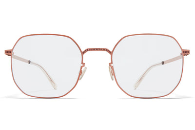 MYKITA + Maison Margiela - MMCRAFT011 Sunglasses Purple Bronze with Gloomy Grey Lenses