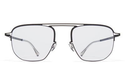 MYKITA + Maison Margiela - MMCRAFT013 Sunglasses Black with Gloomy Grey Lenses