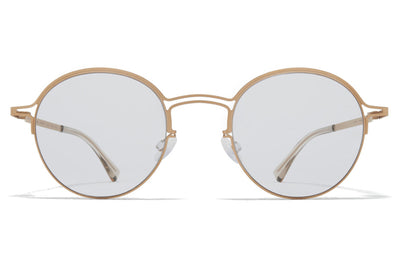 MYKITA + Maison Margiela - MMCRAFT014 Sunglasses Matte Champagne with Gloomy Grey Lenses