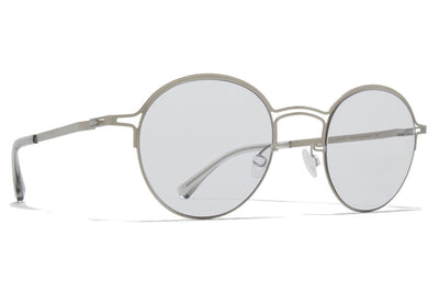 MYKITA + Maison Margiela - MMCRAFT014 Sunglasses Matte Silver with Gloomy Grey Lenses