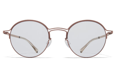 MYKITA + Maison Margiela - MMCRAFT014 Sunglasses Purple Bronze with Gloomy Grey Lenses