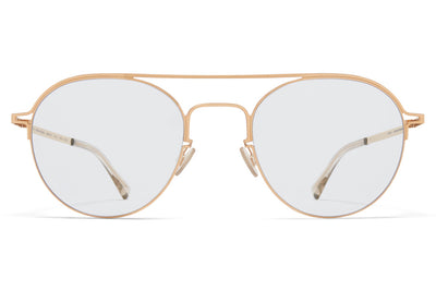 MYKITA + Maison Margiela - MMCRAFT015 Sunglasses Champagne Gold with Gloomy Grey Lenses