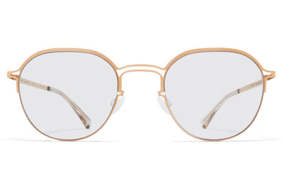 MYKITA + Maison Margiela - MMCRAFT016 Sunglasses Matte Champagne Gold with Gloomy Grey Lenses