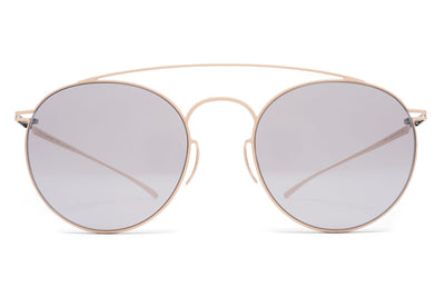 MYKITA + Maison Margiela - MMESSE005 Sunglasses E9 Nude with Warm Grey Flash Lenses