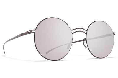 MYKITA + Maison Margiela - MMESSE013 E15 Shiny Graphite with Champagne Gold Lenses