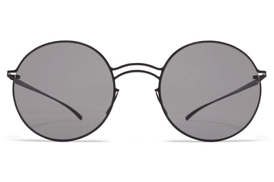 MYKITA + Maison Margiela - MMESSE013 E4 Black with Grey Solid Lenses