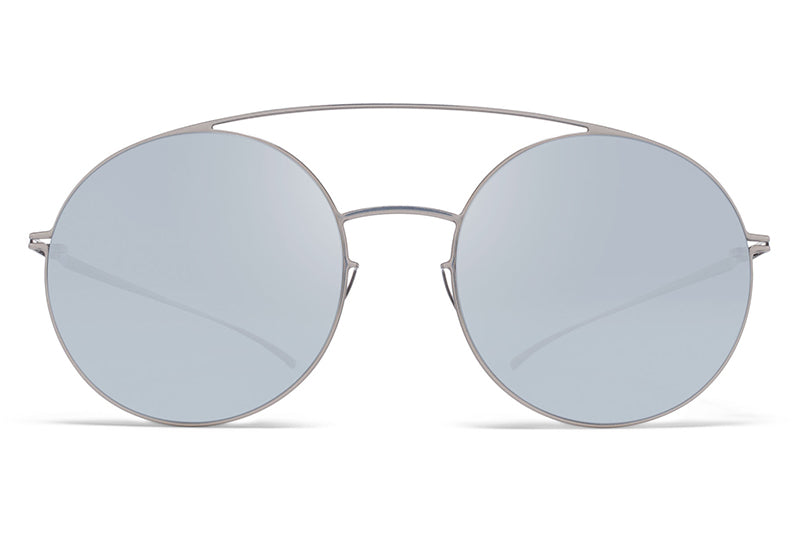 MYKITA + Maison Margiela - MMESSE017 E1 Silver with Silver Flash Lenses