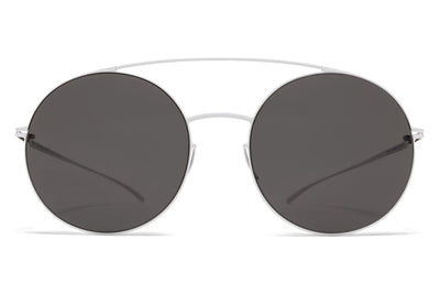 MYKITA + Maison Margiela - MMESSE017 E13 White with Dark Grey Solid Lenses